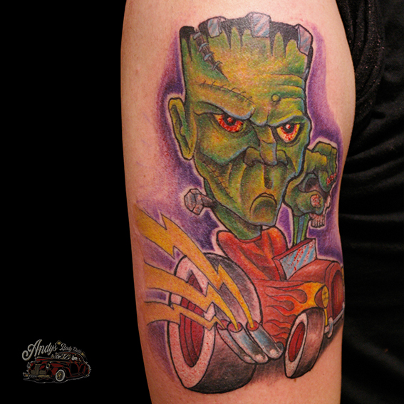 Andy 39 s body electric willich neersen tattoostudio for Flesh electric tattoo